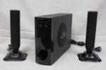 マクサー 3Dサウンド ハイパワースピーカー MTWO-BKR