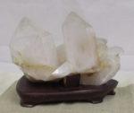 ヒマラヤ水晶 クラスター 六角柱 4kg