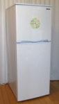 アビテラックス 2ドア冷凍冷蔵庫(138L) AR-143E ホワイトストライプ 右開き 内容量:138リットル