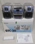 TEKNOS ミニコンポ  GTC-20 ラジオ CD カセット