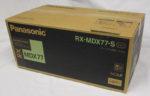 パナソニック パーソナルMDシステム RX-MDX77-S シルバー